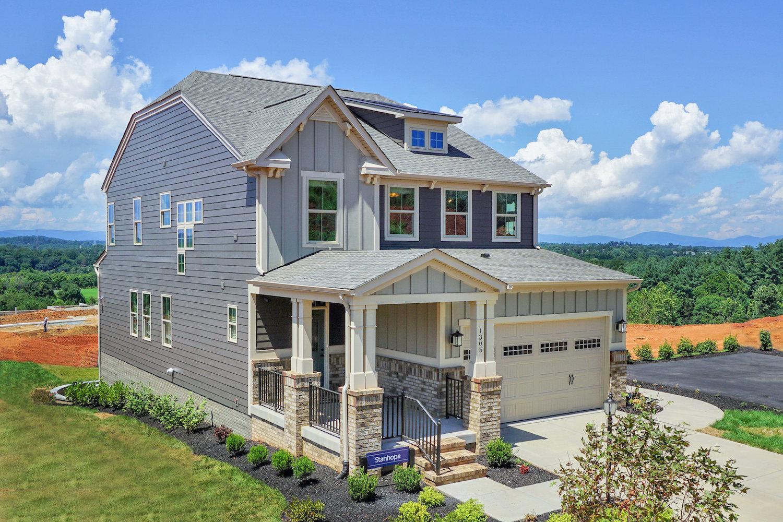 Ryan homes new homes charlottesville mackenzie davis for Custom home builders charlottesville va